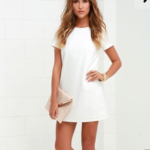 Lulu S Dresses Lulus White Dress Poshmark